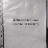 Платная услуга «Получение исполнительного листа в АСГМ»